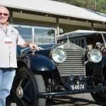 Rolls Royce vistit Hunter Valley