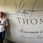 Andrew Thomas winemaker, Pokolbin, Hunter Valley