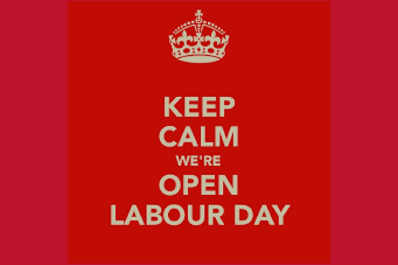 Labour Day Holiday