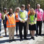 Construction starts on Cessnock end of Hermitage Road project