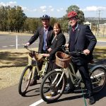 Hunter Valley cycleway opening