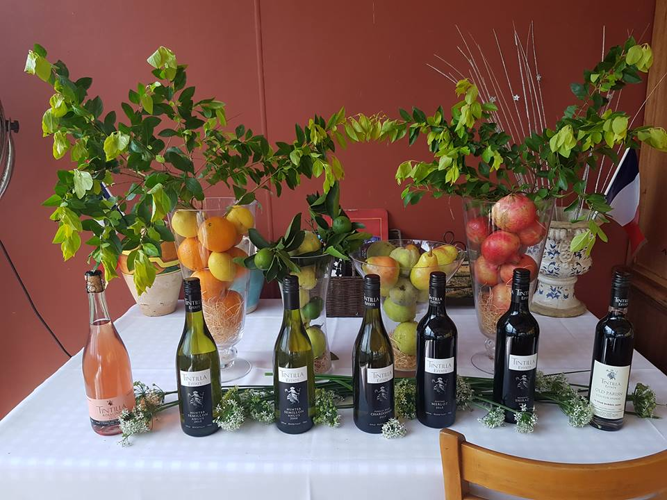 TINTILLA ESTATE TUSCAN LONG LUNCH WITH 1ST RELEASE WINES